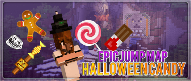 Epic Jump Map Halloween Candy 2 by SkyDoesMinecraft ...